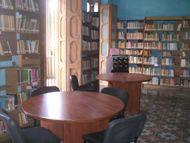 Sala general de lectura de la Biblioteca Pública Domingo del Monte
