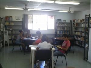 Sala de Lectura juvenil-infantil de la BP de Alamar