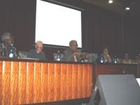 Director de la Biblioteca Nacional de Cuba José Martí en su intervención en la Asamblea General de ASCUBI