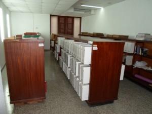 Colecciones pertenecientes al  fondo raro de la institución