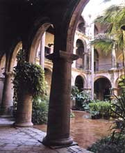 Interior del Convento de San Francisco de Asis