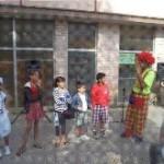 Niños en Biblioteca Parque