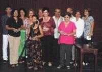 Profesionales galardonados con el sello Conmemorativo Antonio Bachiller y Morales