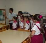 Niños en Braille