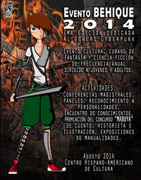 Poster Behique 2014